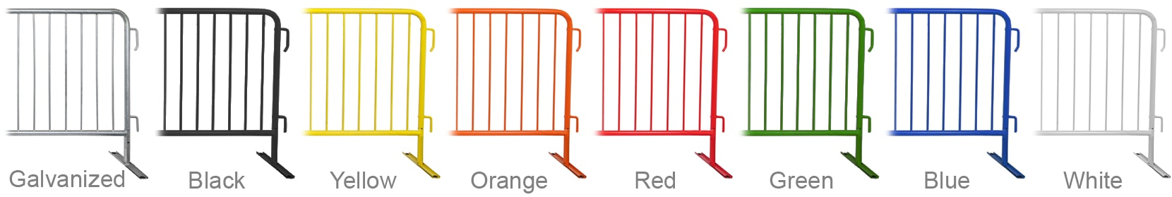 Powder Coated Crowd Control Barrier