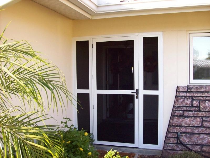 Stainless Steel Door Screen