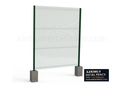 China Peach Type Post Fence Exporter