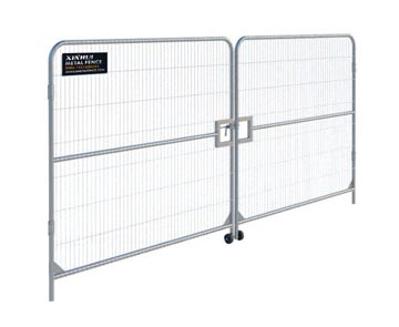 Temporary Fence Vehicle Gate