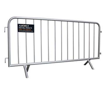 Fixed Cross Feet Crowd Control Barriers