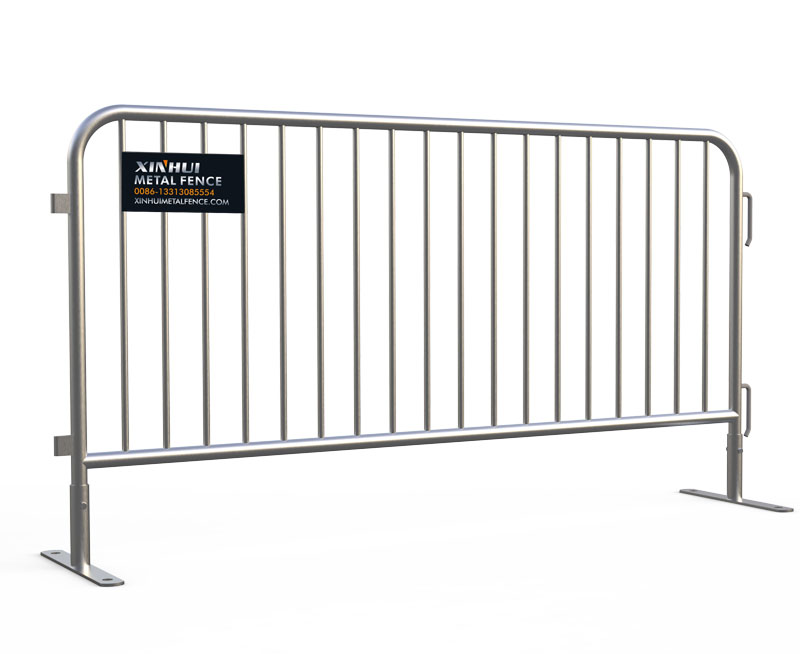 Flat Feet Crowd Control Barriers