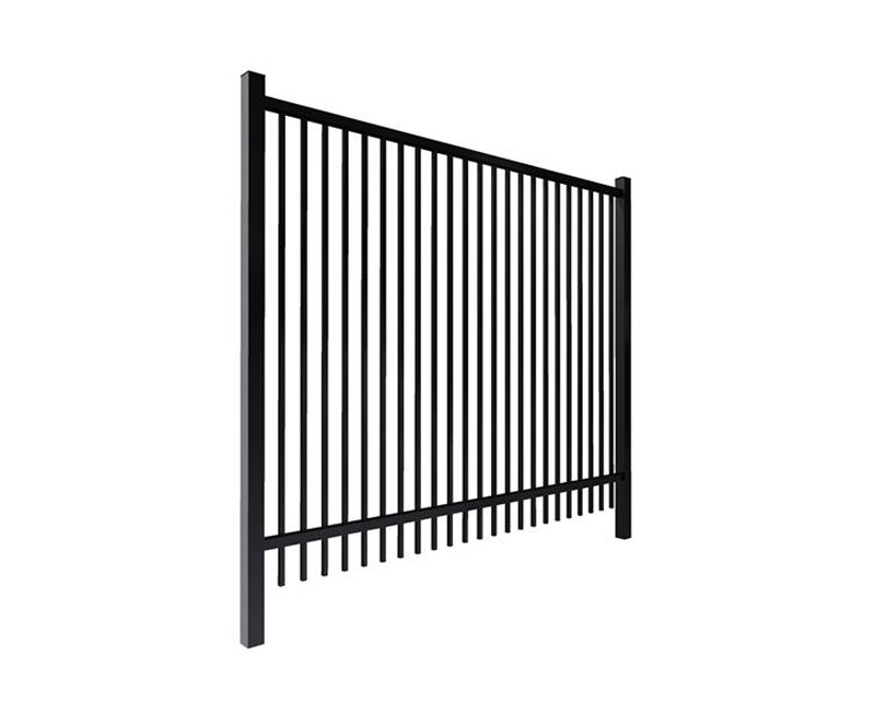Flat Top Garrison Fence