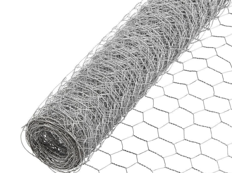 Galvanized Hexagonal Rabbit Mesh
