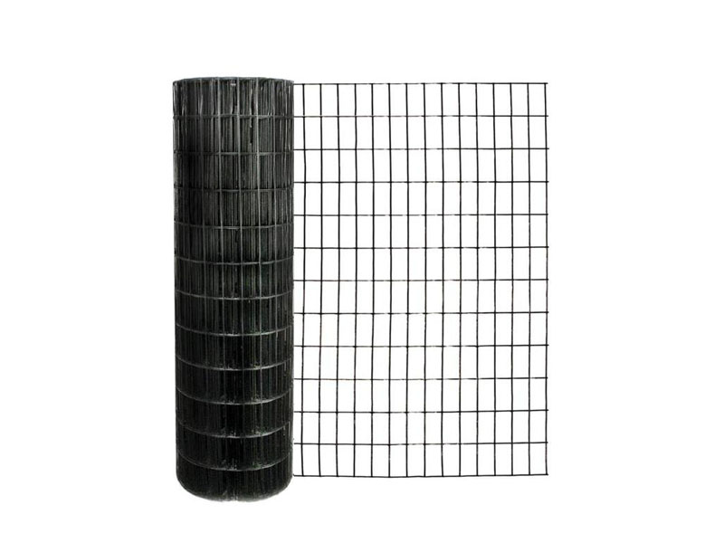 Black Welded Wire Mesh Rolls