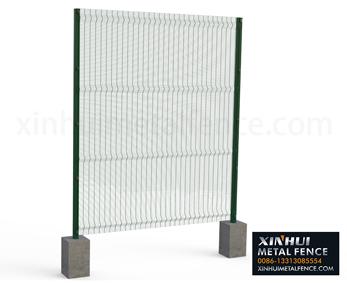 358 Unti-climb Fence 3D Panels