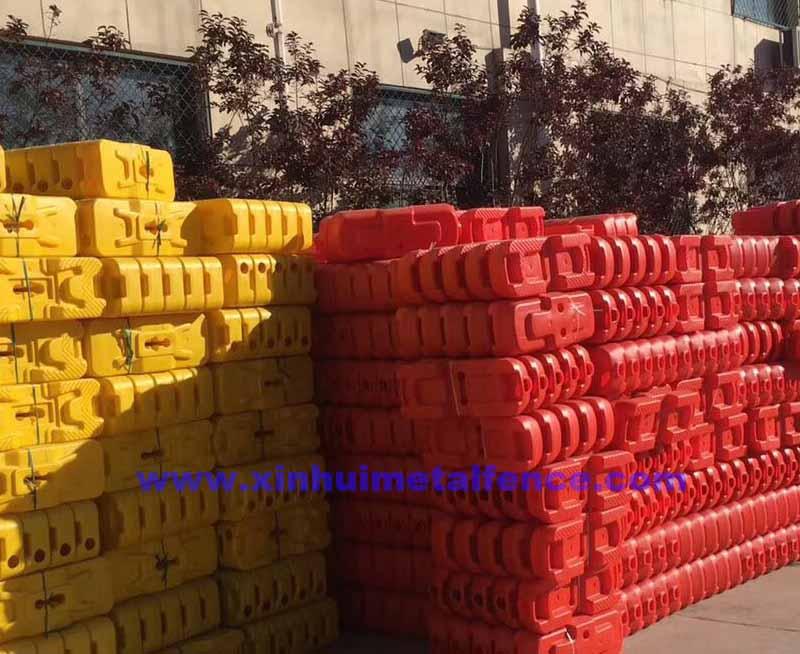 Concrete Filled Plastic Fence Base